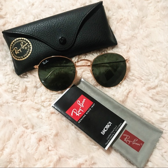 740f543818 Ray-Ban Round Metal Sunglasses